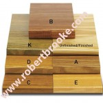 Bleacher Boards - Southern Yellow Pine - Finishes